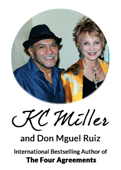 KC Miller and Don Miguel Ruiz