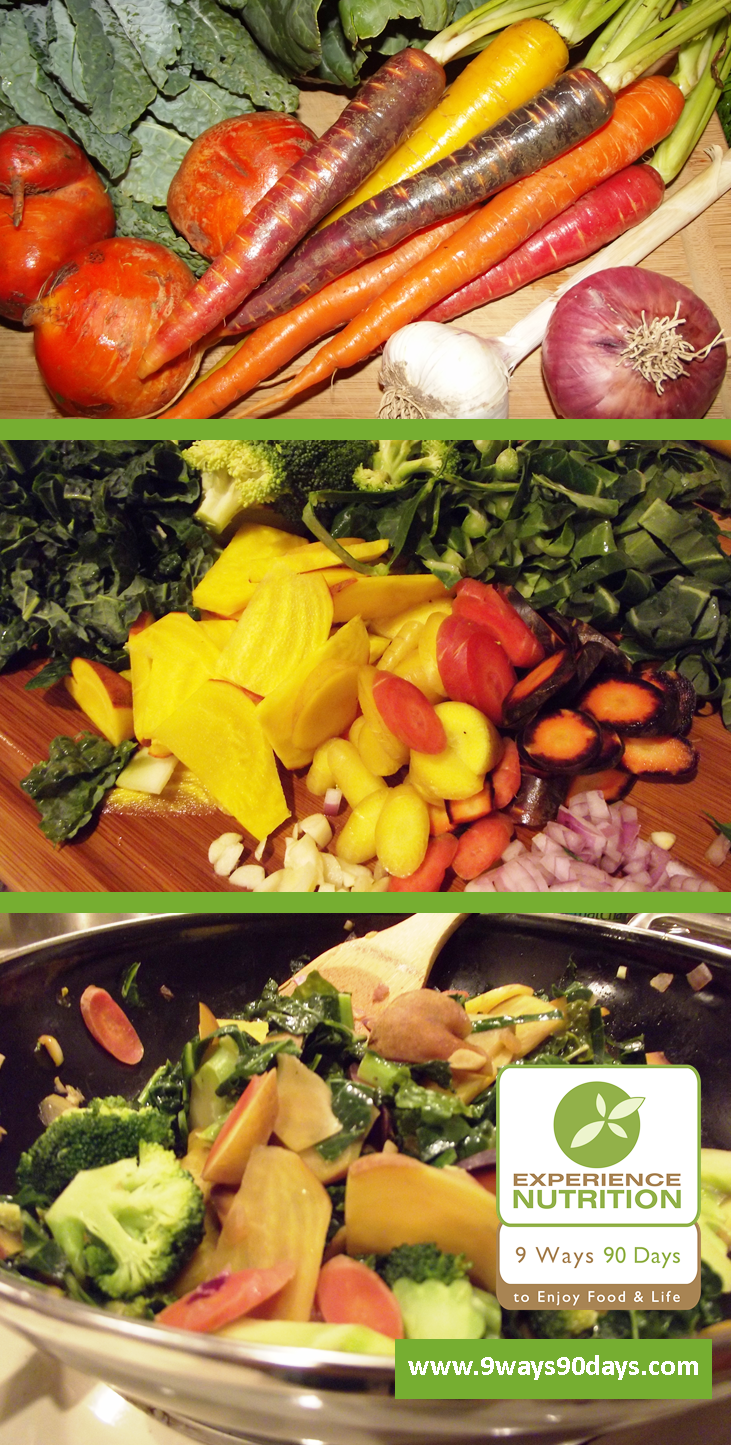 Experience Nutrition™ Roots & Greens Stir-fry
