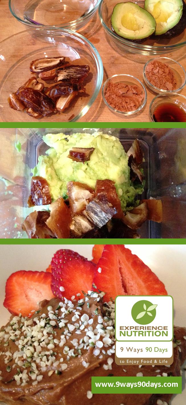 Experience Nutrition™ Vegan Chocolate Avocado Pudding