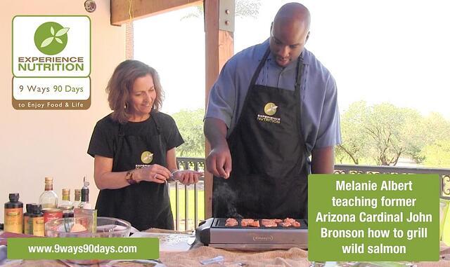 Melanie Albert John Bronson Salmon - Omega-3