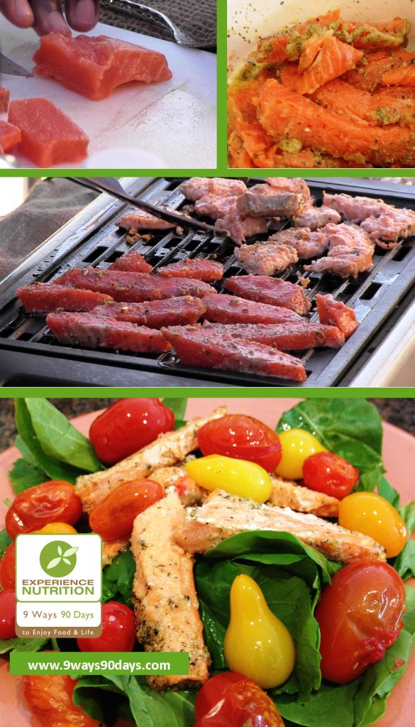 Salmon Grilling - Omega-3