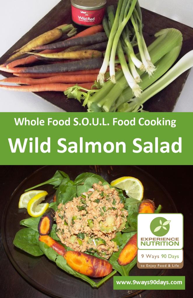 Salmon Salad - Omega-3