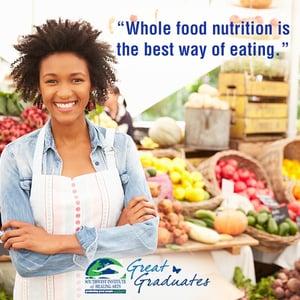 Kimberly Weaver Great Graduate SWIHA Holistic Nutrition