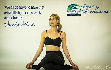 Aricha Pluid SWIHA great graduate yoga nidra teacher