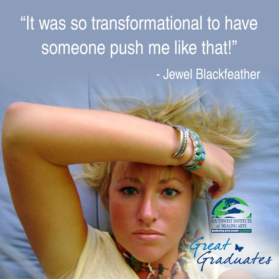 Jewel Blackfeather discusses transformation