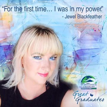 Jewel Blackfeather is in her power