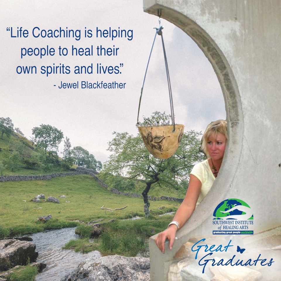 Jewel Blackfeather helps people heal