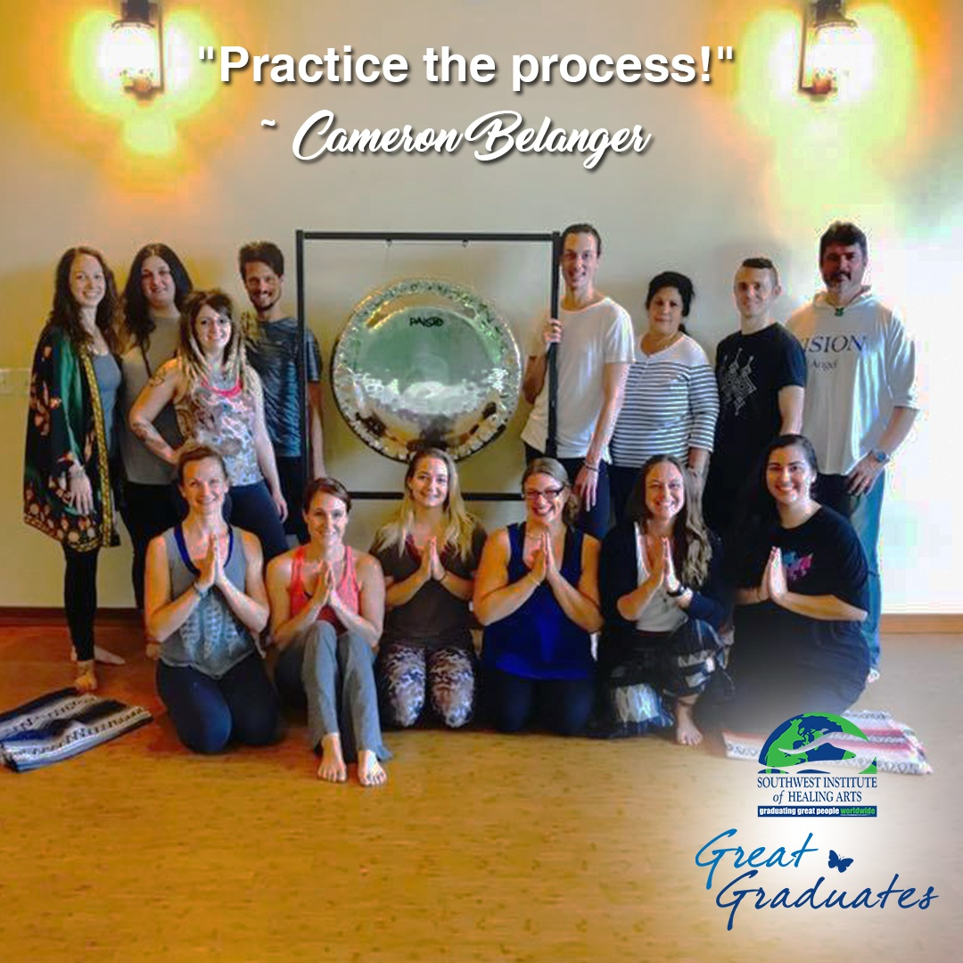 Cameron Belanger SWIHA Great Graduate Yoga Teaher Training