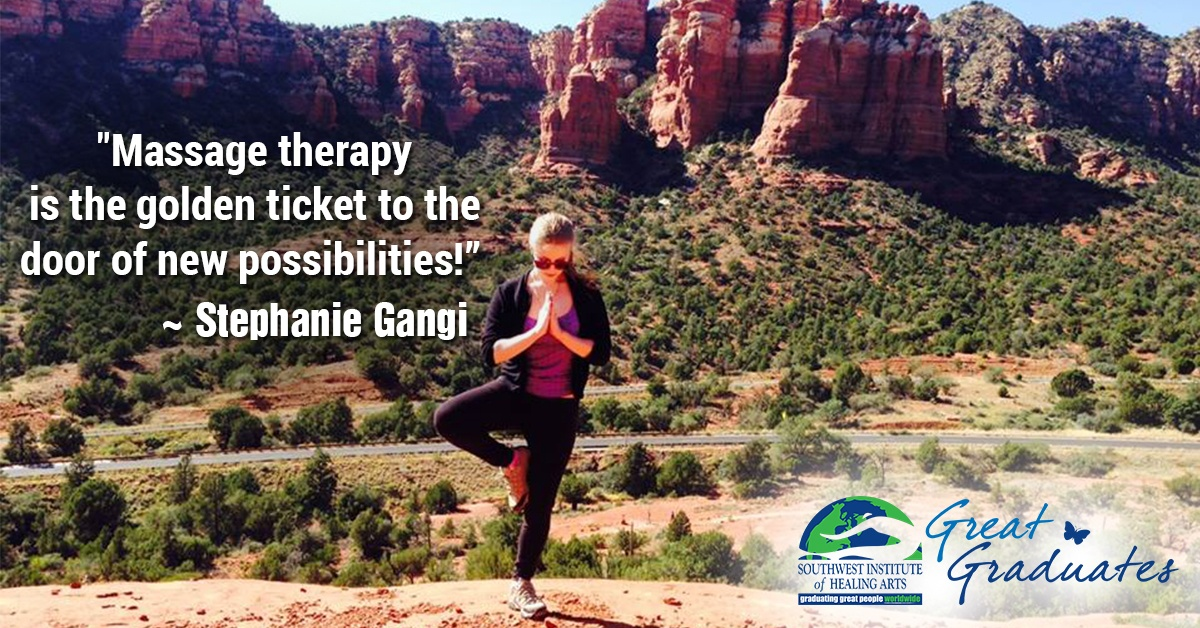 Stephanie Gangi SWIHA Great Graduate Massage Therapist FEAT