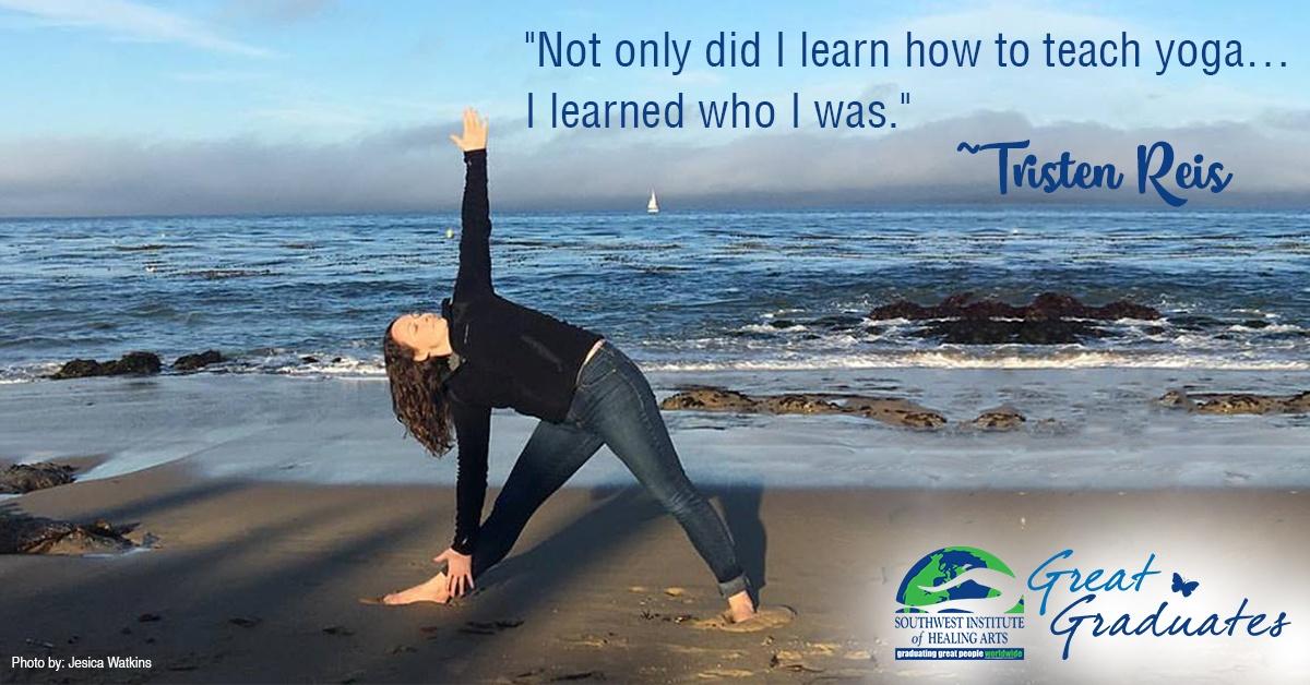 Tristen Reis SWIHA Great Graduate Yoga Teacher Training