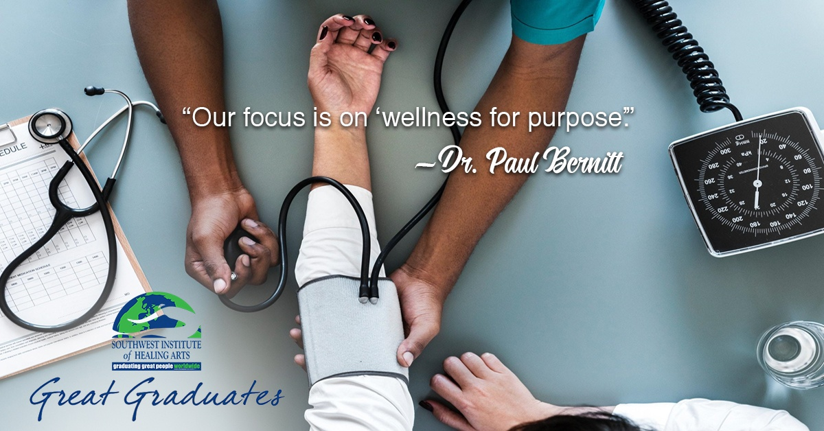 Dr Paul Bernitt SWIHA Great Graduate 1
