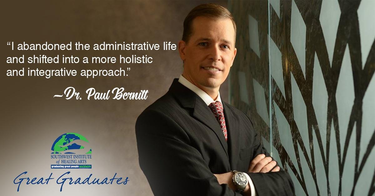 Dr Paul Bernitt SWIHA Great Graduate Feat