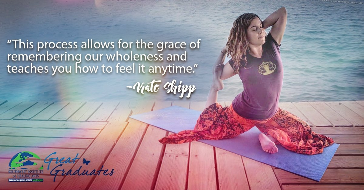 Kate Shipp SWIHA Great Graduate Yoga Teacher Training