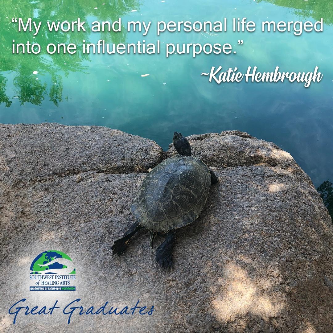 Katie Hembrough SWIHA Great Graduate Yoga Teacher Training 2