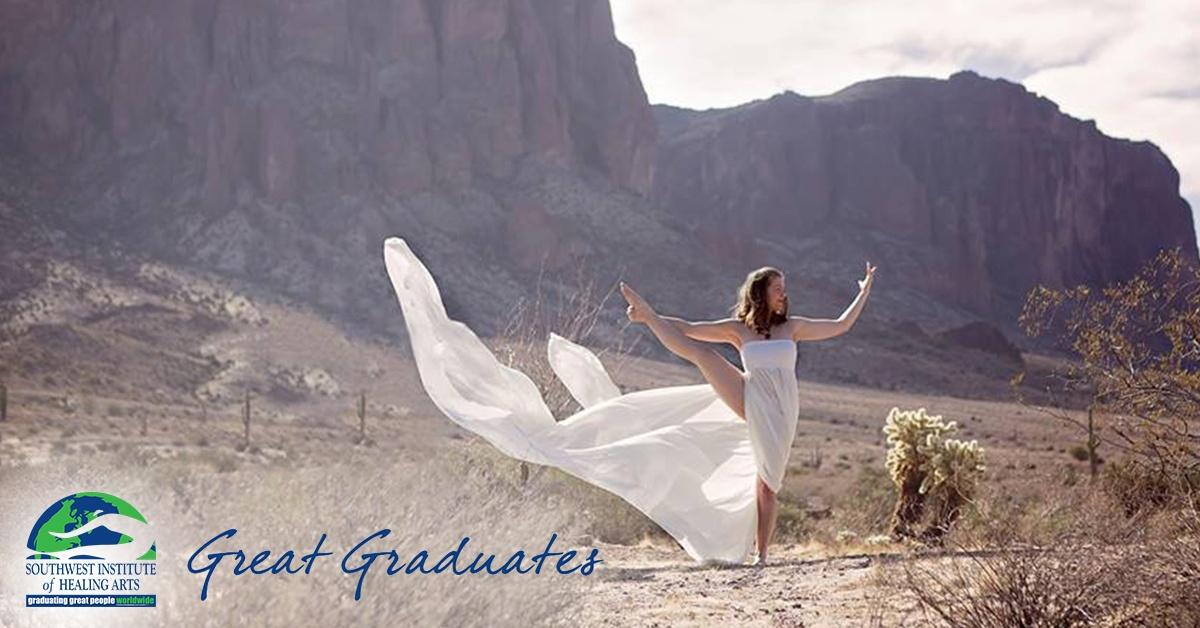 Katie Hembrough SWIHA Great Graduate Yoga Teacher Training feat